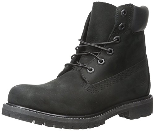 Timberland Womens 6 Premium Boot, Schwarz, 36 EU/3.5 UK