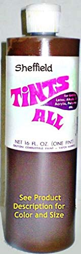 4502 16oz Tints All Colorant Bottle - Venetian Red (Red Iron Oxide) #13