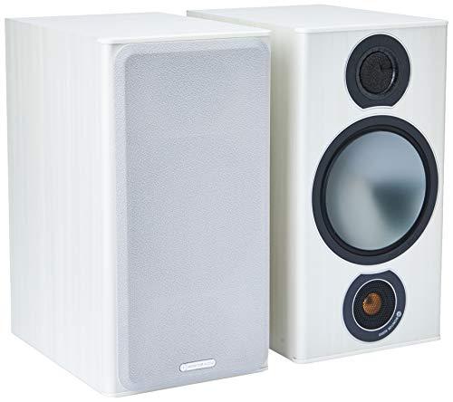 Monitor Audio Bronze 2 Bookshelf Caixa Acústica White Ash