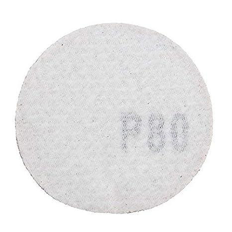 100 unidades de grano 40 a 5000 Papel de lija Chenxi de 50 mm forma redonda