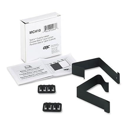 Amazoncom Quartet Cubicle Partition Hangers Fits 15 25 - Black-and-white-matrix-storage-cube-collection