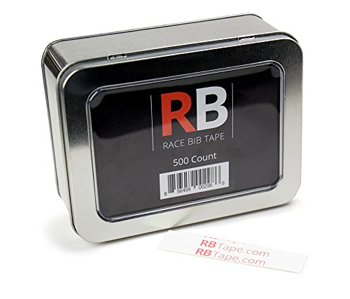 - Race Bib Tape Use Instead of Safety Pins, 500 Count