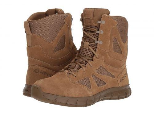 Reebok Work(リーボック) メンズ 男性用 シューズ 靴 ブーツ 安全靴 ワーカーブーツ Sublite Cushion Tactical AR670-1 Compliant Coyote [並行輸入品] B07DNQ321W 4.5 D Medium