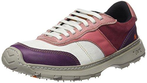 ART 1041 Memphis Link, Zapatos de Cordones Derby Unisex Adulto Morado (Multi Cerise)