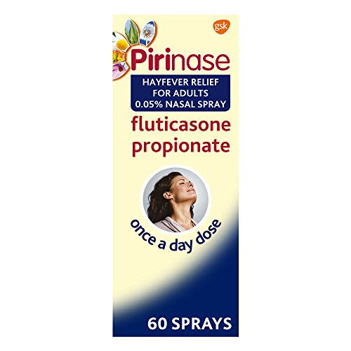 Pirinase Hayfever Relief for Adults 0.05% Nasal Spray 60 Sprays, Once a Day...