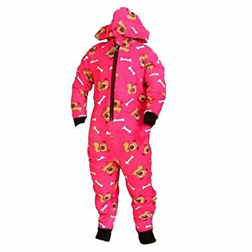 Pijama one ropa de descanso para niñas pijama sudadera con capucha age juego de 3 4 5 6 7 8 9 10 11 12 Rosa