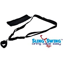 Sling Swing ADJUSTABLE Metal Detector Harness Universal for All Detectors Bungee Support Harness EZ Easy Swing limb arm saver Minelab Pro-Swing 45 Whites Fishers Garrett Bounty Hunter GPX 5000 COMFORT