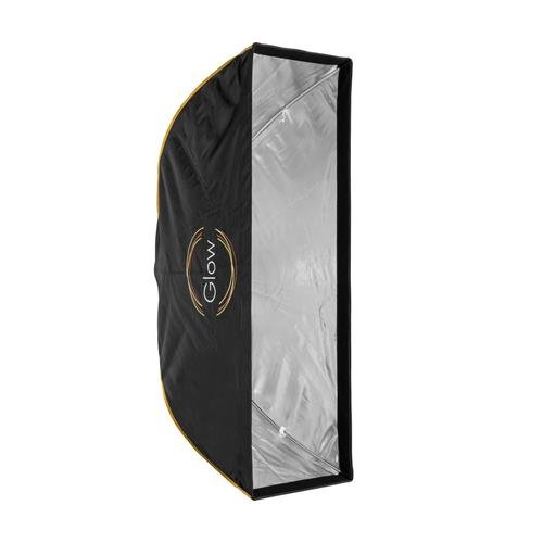 Glow EZ Lock 16x48 Quick Strip Rectangle Softbox with Bowens Mount by Glow
