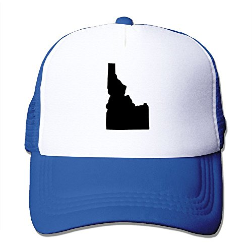 NONGFU State Of Idaho Big Foam Mesh Hat Mesh Back Adjustable Cap - Knights Mesh Cap