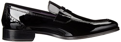 Att Starta New York Mens Moore Slip-on Loafer Vernice Nero