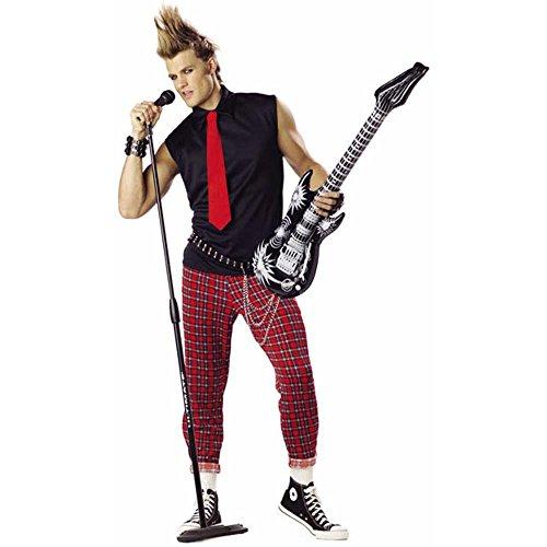 Adult's Punk Rock Singer Costume (Sz: XL 44-46)
