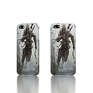 Apple iPhone 5 / 5S Case - The Best 3D Full Wrap iPhone Case - Assassin's Creed 3 Connor Free Running