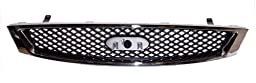 OE Replacement Ford Focus Grille Assembly (Partslink Number FO1200430)
