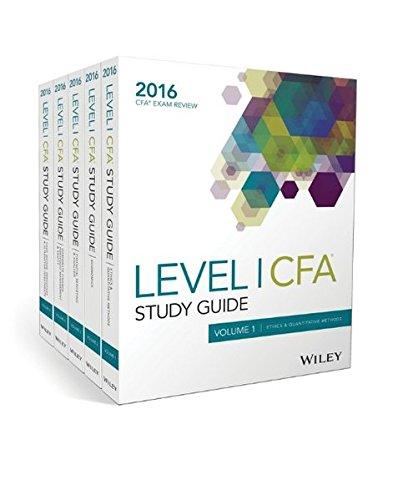Study Guide For 2016 Cfa