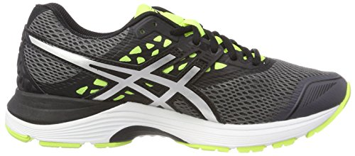 Asics Gel-pulse 9 Scarpe Running Uomo Grigio carbon silver safety Yellow