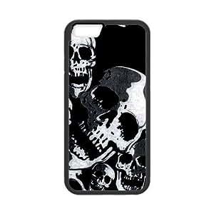 Tt-shop Custom Grey Skulls Pattern For iPhone6 4.7