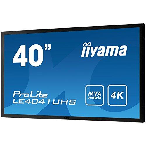 IIYAMA LE4041UHS-B1 - 40' 4K monitor with high contrast, MVA panel and robust metal bezel (Manufacturer's SKU:ProLite LE4041UHS-B1) by iiyama (Image #2)
