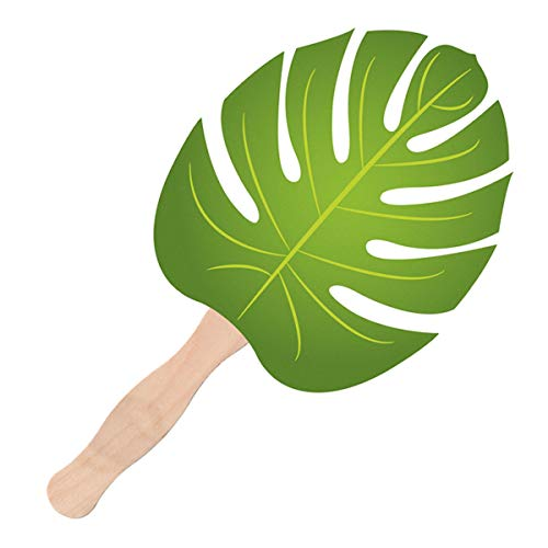 Make Your Own Palm Leaf Fan Craft Set for Parties, 10 3/4 Inch, Pack of 36