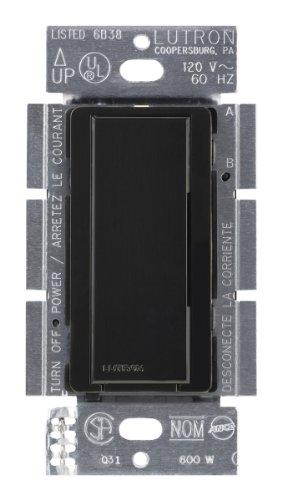 Lutron Lutron MA-AS-277-BL Maestro 277-Volt Multi-Location Companion Switch, Black