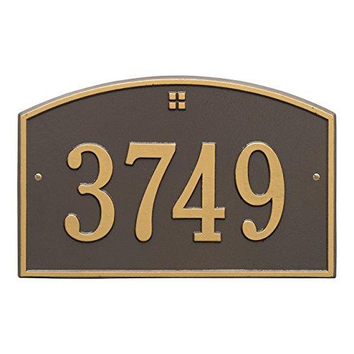 - 1 Line Cape Charles Address Plaque 15