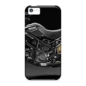 GoldenArea Scratch-free Phone Case For Iphone 5c- Retail Packaging - 2010 Ducati Hypermotard