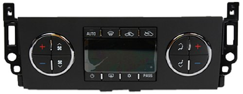 ACDelco 15-74025 GM Original Equipment Heating and Air Conditioning Control Panel with Rear Window Defogger Switch -