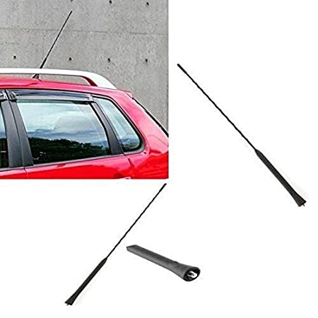 Myhonour Antenne 40cm Universelle Autoantenne Kurzstabantenne Radioantenne