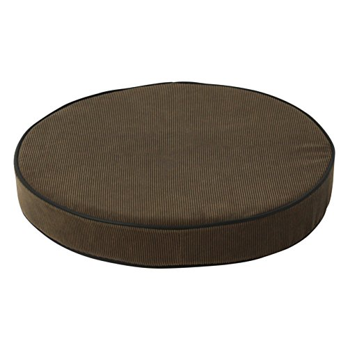 Dakota Designs 5nwj1 Stool Cushion Round Padded Brown