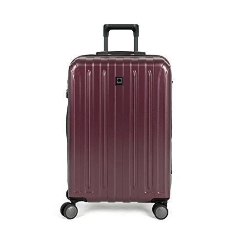 DELSEY Paris Luggage Checked-Medium, Purple