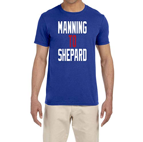 Tobin Clothing Blue New York Manning to Shepard T-Shirt Adult Small