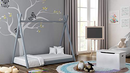 140x70, Rose Pas de Matelas Inclus Style Tepee de Titus pour Enfants Enfants Enfant Junior Childrens Beds Home Lit /à baldaquin Simple en Bois Massif