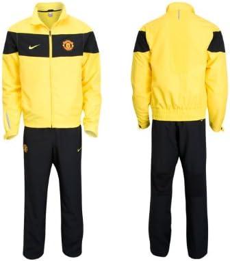 Nike Manchester United - Chándal para niño, color amarillo Talla ...