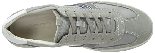 EccoGraham - Zapatos Planos con Cordones Hombre Gris - 20 Wild Dove Grau