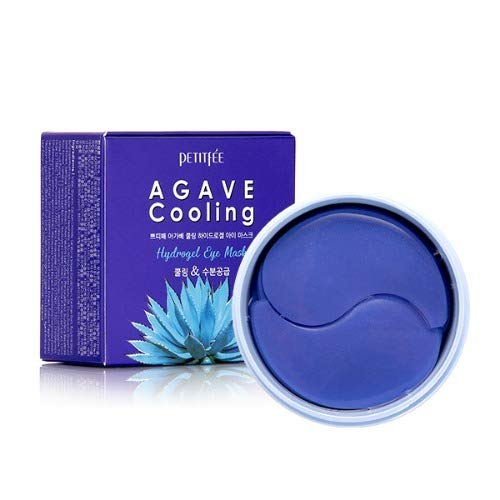 Amazon.com: PETITFEE Agave Cooling Eye Patch (60 pieces, 30 pairs) Cool Down, Skin-Fit, Moisturizing, Nourishing: Beauty