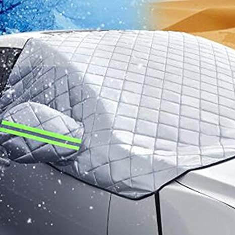 Windscreen Cover Heat Sun Shade Anti Snow Frost Ice Shield Dust Protector Silver