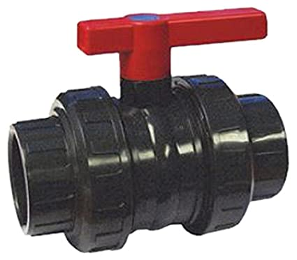 PVC Kugelhahn d 50 2x   plus 8 x PVC Winkel 90° 50 mm Fitting
