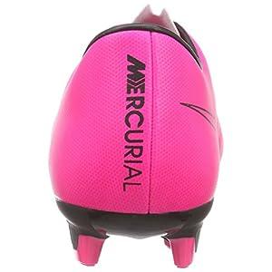 Nike Men's Mercurial Victory V FG Hyper Pink/Hyper Pink/Blk/Blk Soccer Cleat 10 Men US