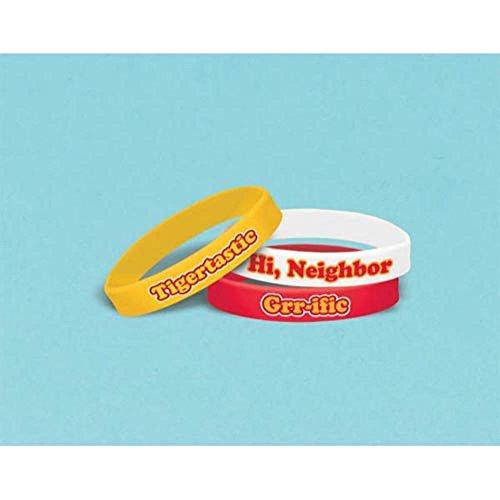 Daniel Tiger's Neighborhood Rubber Bracelets / Favors (6ct)