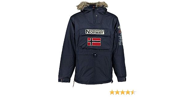 Geographical Norway Parka Hombre Boomerang B Azul EL/ÉCTRICO M