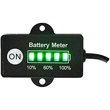 Amazon.com: PRO12/24FRC 12 or 24 Volt Battery Indicator Meter ... on