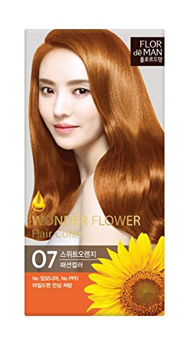Somang Flor De Man Wonder Flower Hair Color (O7 Sweet Orange)