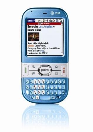 amazon com at t cingular palm centro pda blue pre owned cell rh amazon com Palm Smartphone Palm Centro Ad