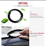 1M Car Styling Dashboard Soundproof Seal Strip for