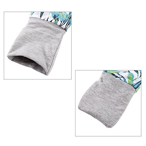Big Elephant Baby Boys'1 Piece Long Sleeve Sleepwear Zipper Closure Romper