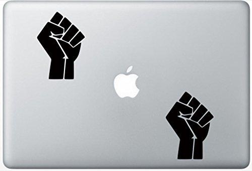 Set Life Sticker (Black Lives Matter Symbol ArcDecals78600209 Set Of Two (2x) , Decal , Sticker , Laptop , Ipad , Car , Truck)