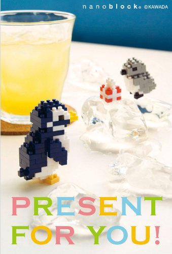 nanoblock postcards (Penguin) multipurpose (japan import)