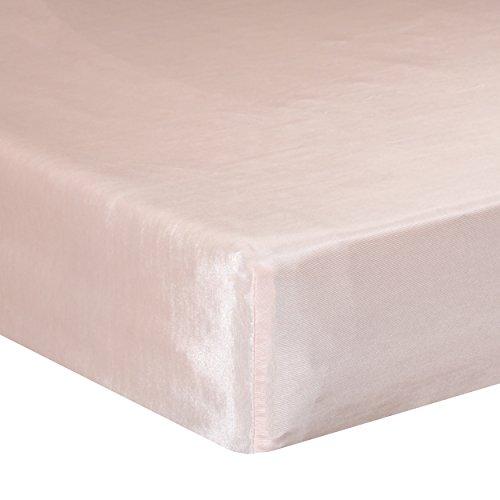 Glenna Jean Lil Princess Mini Crib Fitted Sheet, Pink