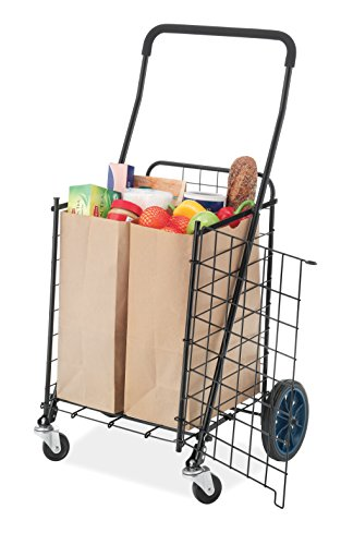 Whitmor Front Access Utility  Cart Front Loading Laundry Cart