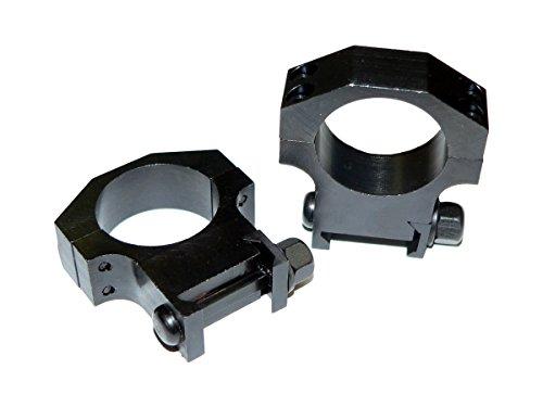 Ring Itt (ITT 30mm Scope Rings, Sniper Grade Heavy Duty Tactical Steel for Picatinny Weaver Style Rail)