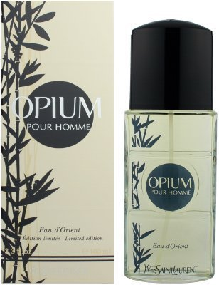 Opium Ginger Eau De Toilette - OPIUM EAU D'ORIENT by Yves Saint Laurent EDT SPRAY 3.3 OZ (2008 LIMITED EDITION) for Men